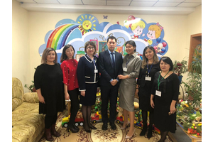 The Minister of Education and Science of the Republic of Kazakhstan Yerlan Sagadiyev visited the private mini-center